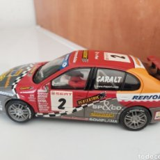 Scalextric: SEAT LEON N°3 CARALT SCALEXTRIC NUEVO. Lote 195326412