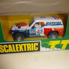 Scalextric: SCALEXTRIC. NISSAN PATROL REPSOL. REF. 6509. Lote 195326536