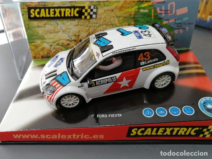 6162 - FORD FIESTA RALLY JWRC DE SCALEXTRIC (Juguetes - Slot Cars - Scalextric Tecnitoys)