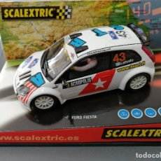 Scalextric: 6162 - FORD FIESTA RALLY JWRC DE SCALEXTRIC. Lote 195381083