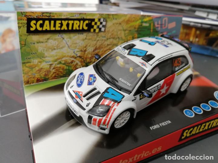 Scalextric: 6162 - FORD FIESTA RALLY JWRC DE SCALEXTRIC - Foto 2 - 195381083