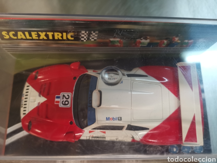 Scalextric: Coche scalextric de Tecnitoys Porsche 912 GT1 Mòbil nº29 ref. 6006 - Foto 2 - 195388602