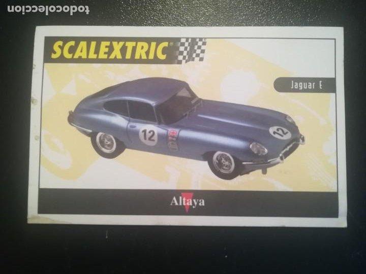 Scalextric: SCALEXTRIC JAGUAR TYPE E TECNITOYS DE EDICIONES ALTAYA - Foto 5 - 195460531