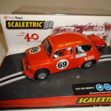 Scalextric: SCALEXTRIC. FIAT ABARTH. 40 ANIVERSARIO SCALEXTRIC. Lote 195489415