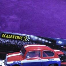 Scalextric: FIAT 600 ABARTH -TEXACO ( LUCES DE XENON. Lote 195512173