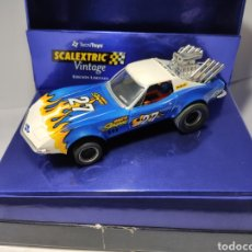 Scalextric: SCALEXTRIC CHEVROLET CORVETTE VINTAGE TECNITOYS REF. 6118. Lote 195515192