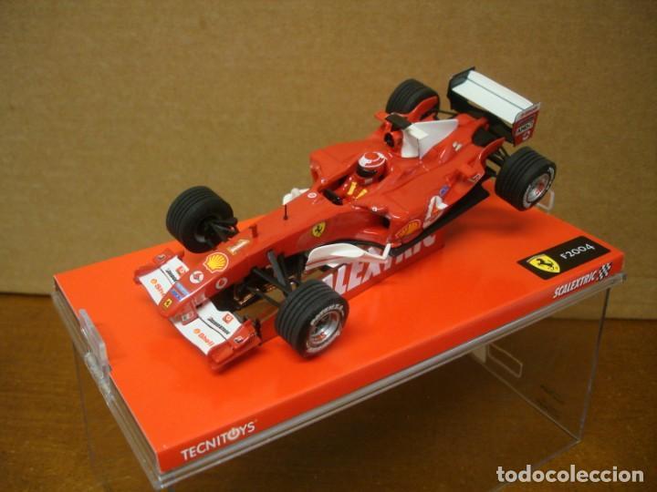 SCALEXTRIC FERRARI MICHAEL SCHUMACHER REF 6173 NUEVO CON SU CAJA ORIGINAL (Juguetes - Slot Cars - Scalextric Tecnitoys)