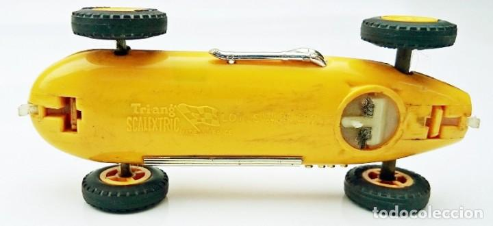 Scalextric: SLOT TRIANG SCALEXTRIC - LOTUS 16 - CMC 54 ( MADE IN FRANCE ) - Foto 6 - 197141091