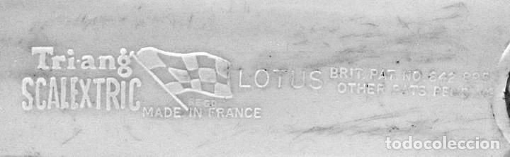Scalextric: SLOT TRIANG SCALEXTRIC - LOTUS 16 - CMC 54 ( MADE IN FRANCE ) - Foto 7 - 197141091