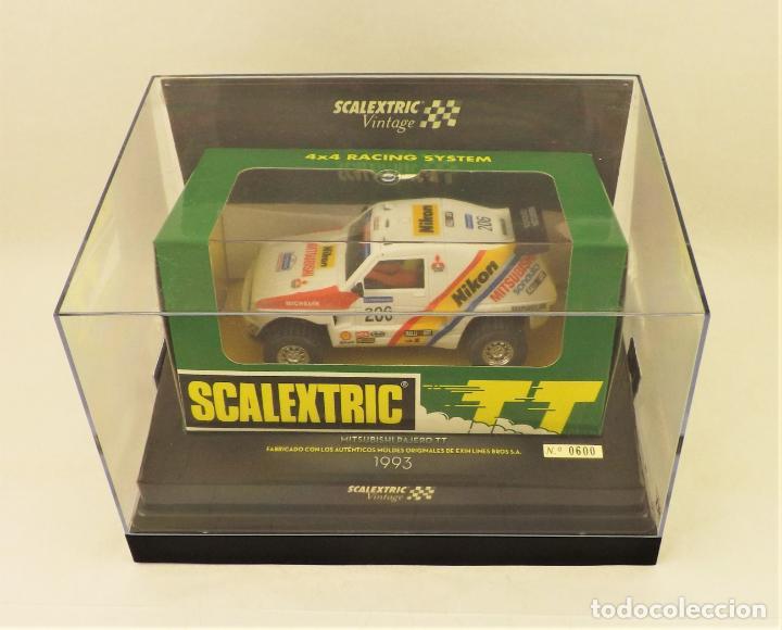 Scalextric: Scalextric Vintage Ed. Limitada Mitsubishi pajero TT - Foto 6 - 197359127