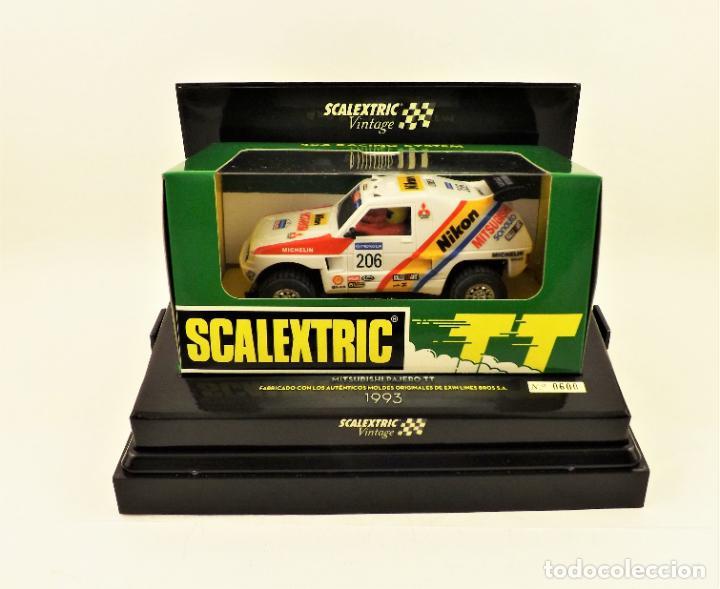 SCALEXTRIC VINTAGE ED. LIMITADA MITSUBISHI PAJERO TT (Juguetes - Slot Cars - Scalextric Tecnitoys)