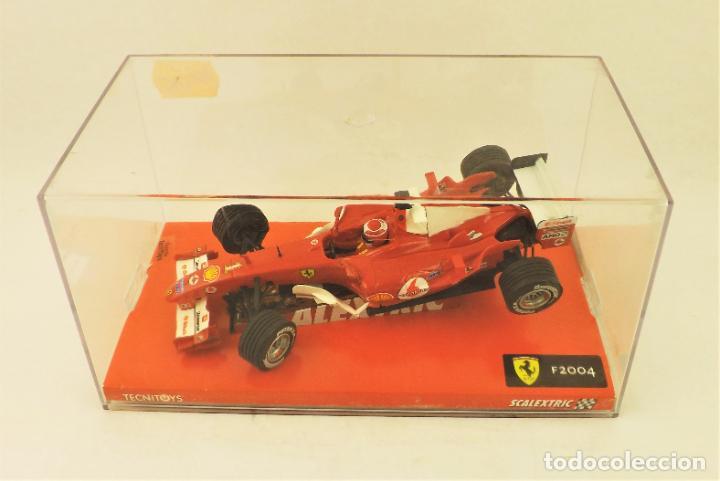 Scalextric: Scalextric 6173 Ferrari F2004 nº 1 - Foto 7 - 197359347