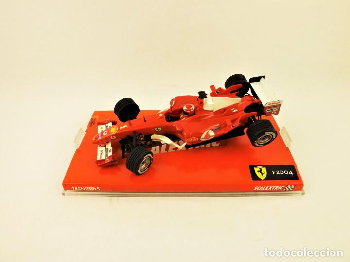 SCALEXTRIC 6173 FERRARI F2004 Nº 1 (Juguetes - Slot Cars - Scalextric Tecnitoys)