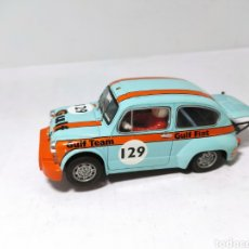 Scalextric: SCALEXTRIC FIAT ABARTH 1000 GULF TECNITOYS. Lote 197928173