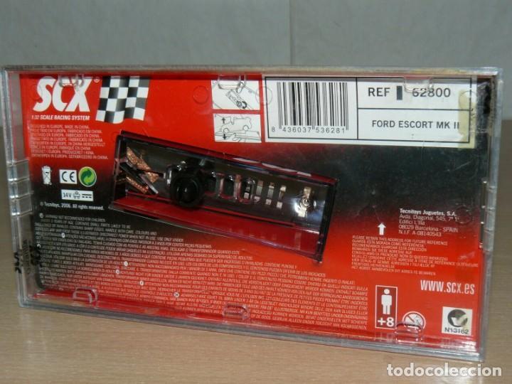Scalextric: Scalextric TecniToys FORD ESCORT MK II Cossack Shell Ref. 62800 Classic Series coche car - Foto 5 - 198328152