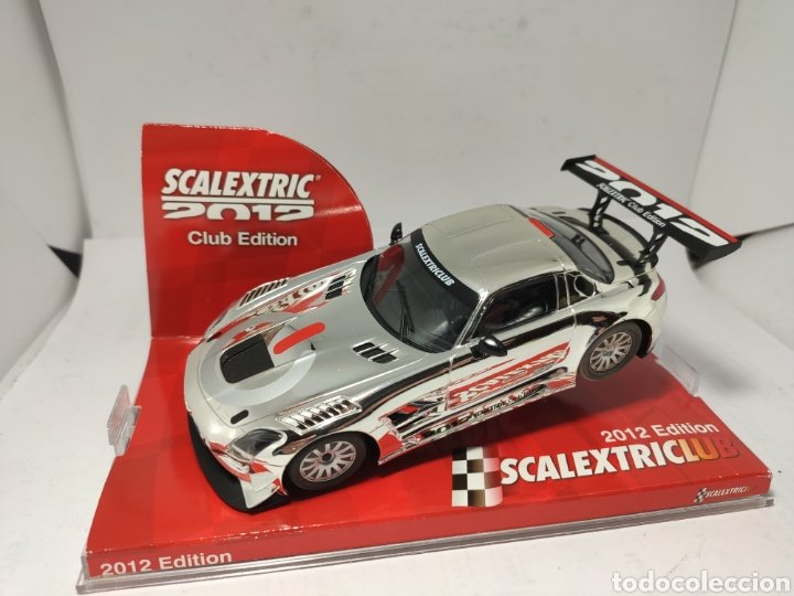 SCALEXTRIC MERCEDES SLS GT3 CLUB SCALEXTRIC 2012 TECNITOYS (Juguetes - Slot Cars - Scalextric Tecnitoys)
