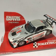 Scalextric: SCALEXTRIC MERCEDES SLS GT3 CLUB SCALEXTRIC 2012 TECNITOYS. Lote 198330783