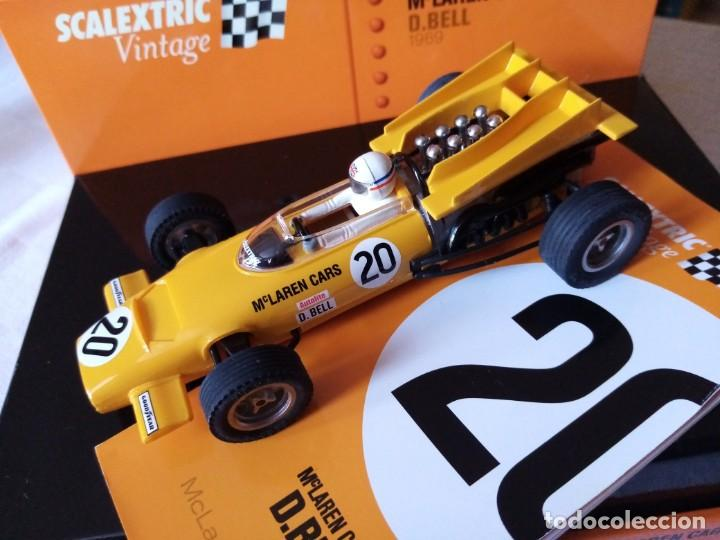 SCALEXTRIC TECNITOYS MCLAREN M9A F1 VINTAGE REF 6205 (Juguetes - Slot Cars - Scalextric Tecnitoys)