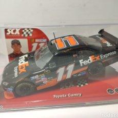 Scalextric: SCALEXTRIC TOYOTA CAMRY FEDEX NASCAR SCX TECNITOYS REF. 64110. Lote 199059823