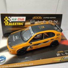 Scalextric: SCALEXTRIC SEAT LEON CLUB SCALEXTRIC 2005 TECNITOYS. Lote 199059965