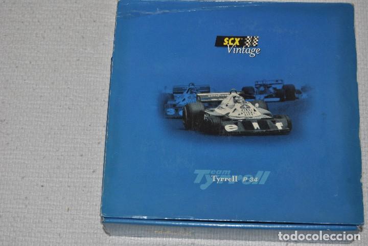 Scalextric: FORD TYRELL P34 EDICION VINTAGE EDICION DE 2000 UNIDADES - Foto 3 - 199632783