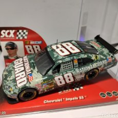 Scalextric: SCALEXTRIC CHEVROLET IMPALA SS NATIONAL GUARD SCX NASCAR TECNITOYS REF. 63940. Lote 199789832
