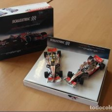 Scalextric: SCALEXTRIC 6325 MC LAREN MERCEDES MP4 21 PACK ALONSO Y HAMILTON. Lote 200025980