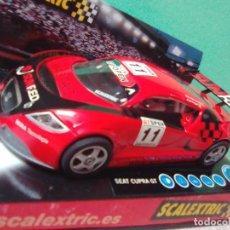 Scalextric: SEAT CUPRA GT DE SCALEXTRIC. Lote 202744961