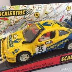 Scalextric: TECNITOYS RENAULT MÉGANE MAXI SAFARI RALLYE 1999. Lote 202981030