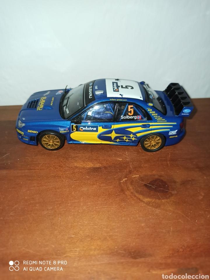 SUBARU IMPRESA WRC SCALEXTRIC (Juguetes - Slot Cars - Scalextric Tecnitoys)
