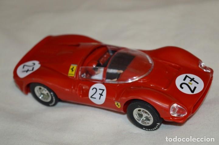 Scalextric: SCALEXTRIC / Tecnitoys - FERRARI GT 330 C-41/ C 41 Colección coches MÍTICOS ¡Mira fotos/detallles! - Foto 2 - 203443393