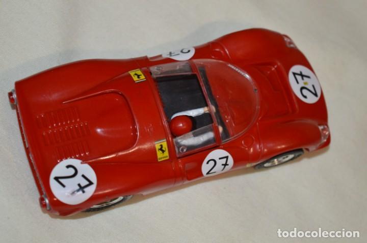 Scalextric: SCALEXTRIC / Tecnitoys - FERRARI GT 330 C-41/ C 41 Colección coches MÍTICOS ¡Mira fotos/detallles! - Foto 4 - 203443393