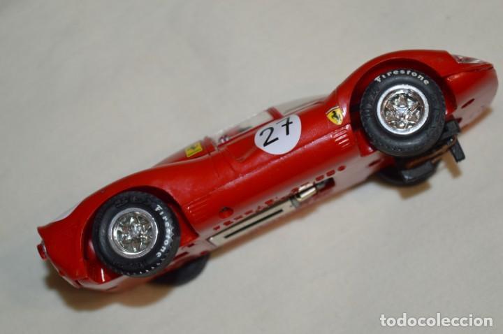 Scalextric: SCALEXTRIC / Tecnitoys - FERRARI GT 330 C-41/ C 41 Colección coches MÍTICOS ¡Mira fotos/detallles! - Foto 5 - 203443393