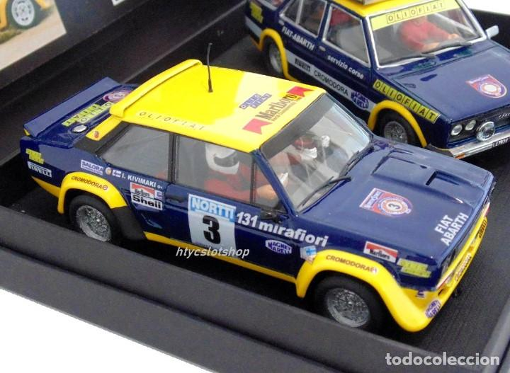 Scalextric: SCALEXTRICPASSION FIAT 131 ASISTENCIA + ABARTH #3 WINNER 1000 LAGOS 1976 ALEN / KIVIMACKI SP024 - Foto 3 - 140077358