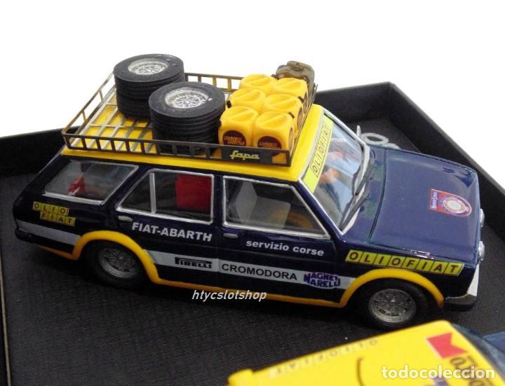 Scalextric: SCALEXTRICPASSION FIAT 131 ASISTENCIA + ABARTH #3 WINNER 1000 LAGOS 1976 ALEN / KIVIMACKI SP024 - Foto 7 - 140077358