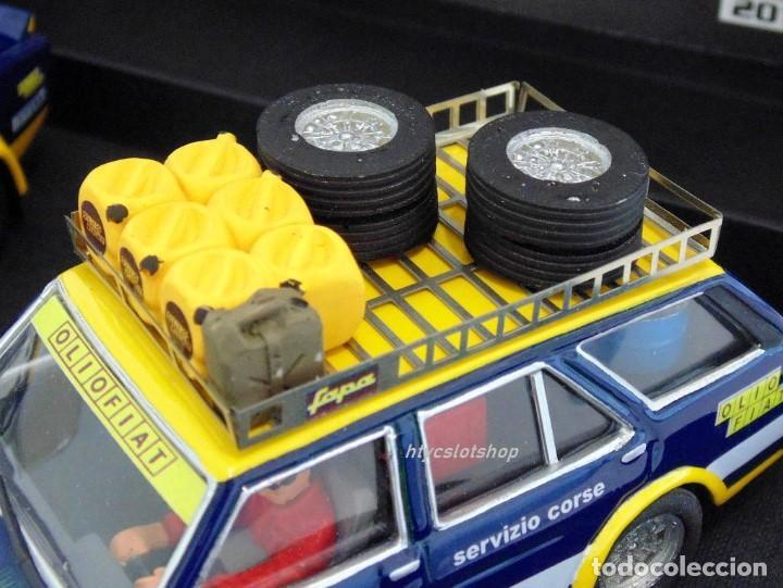 Scalextric: SCALEXTRICPASSION FIAT 131 ASISTENCIA + ABARTH #3 WINNER 1000 LAGOS 1976 ALEN / KIVIMACKI SP024 - Foto 9 - 140077358