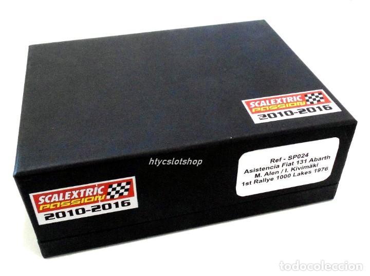 Scalextric: SCALEXTRICPASSION FIAT 131 ASISTENCIA + ABARTH #3 WINNER 1000 LAGOS 1976 ALEN / KIVIMACKI SP024 - Foto 11 - 140077358