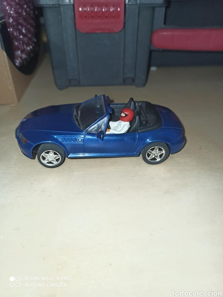 Scalextric: BMW Z3 CARTRIX AZUL METALIZADO - Foto 2 - 205512936