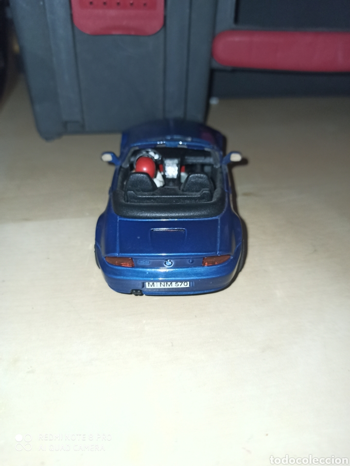 Scalextric: BMW Z3 CARTRIX AZUL METALIZADO - Foto 3 - 205512936