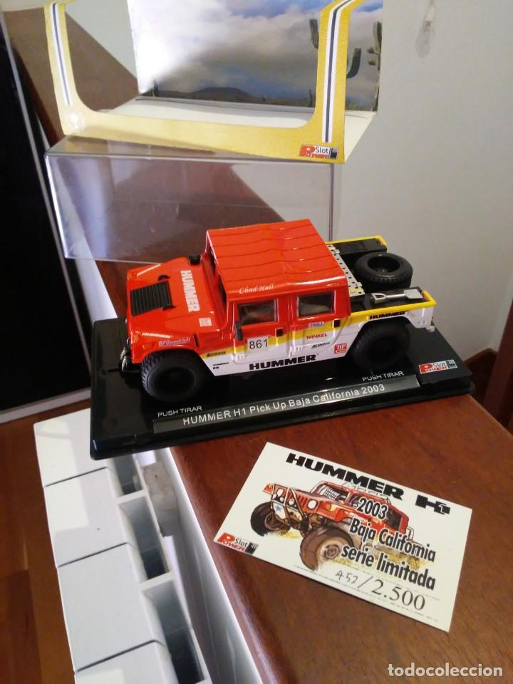 NUMERO 452/2500 HUMMER H1 BAJA CALIFORNIA POWER SLOT TIPO SCALEXTRIC (Juguetes - Slot Cars - Scalextric Tecnitoys)
