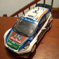 Scalextric: RALLY HIRVONEN FORD FIESTA WRC SCALEXTEIC NUEVO SIN USAR. Lote 205543388