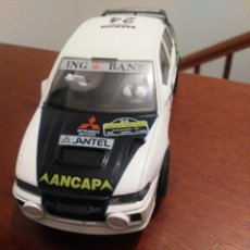 Scalextric: MADE IN SPAIN MITSUBISHI LANCER EVO 4 SCALEXTRIC RALLY MUY NUEVO. Lote 205594625