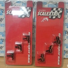 Scalextric: GUIAS NUEVAS EN BLISTER SCALEXTRIC TECNITOYS. Lote 206191490