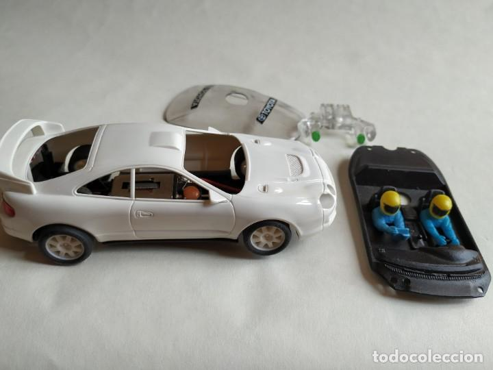 TOYOTA CELICA BLANCO (Juguetes - Slot Cars - Scalextric Tecnitoys)