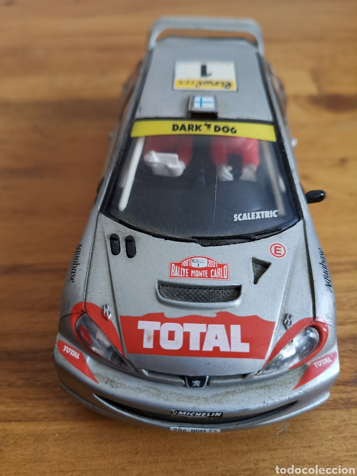 Scalextric: Coche scalextric de Tecnitoys Peugeot 206 WRC nº1 - Foto 2 - 206288213