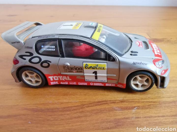 Scalextric: Coche scalextric de Tecnitoys Peugeot 206 WRC nº1 - Foto 3 - 206288213