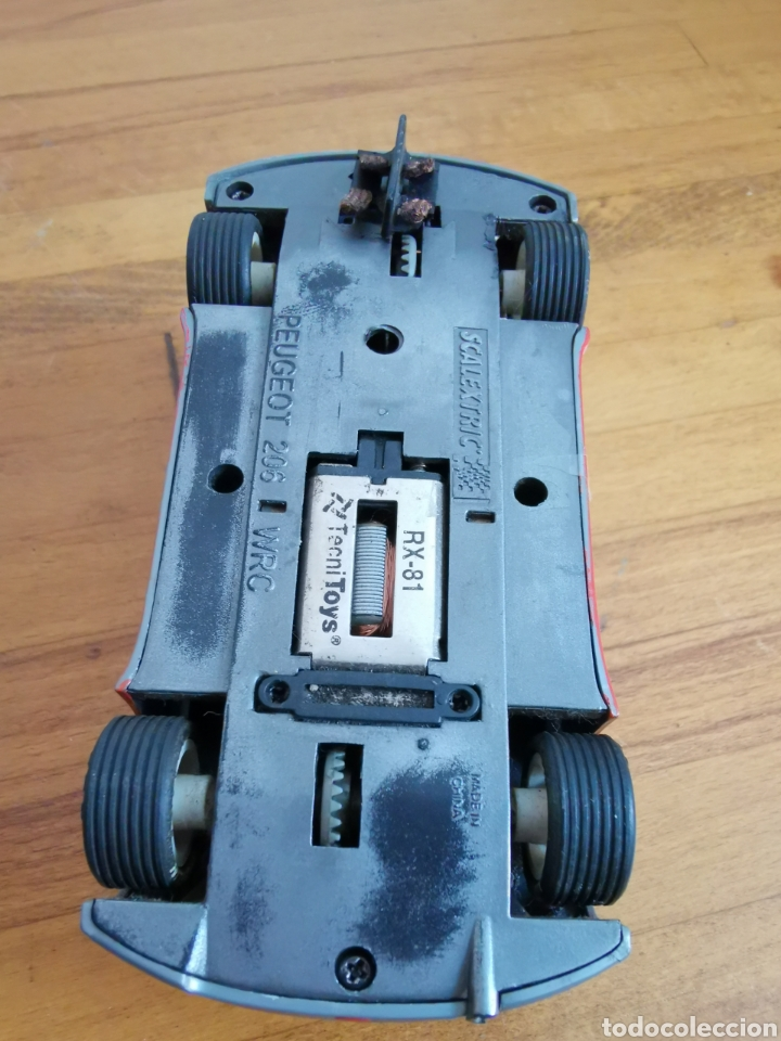 Scalextric: Coche scalextric de Tecnitoys Peugeot 206 WRC nº1 - Foto 5 - 206288213