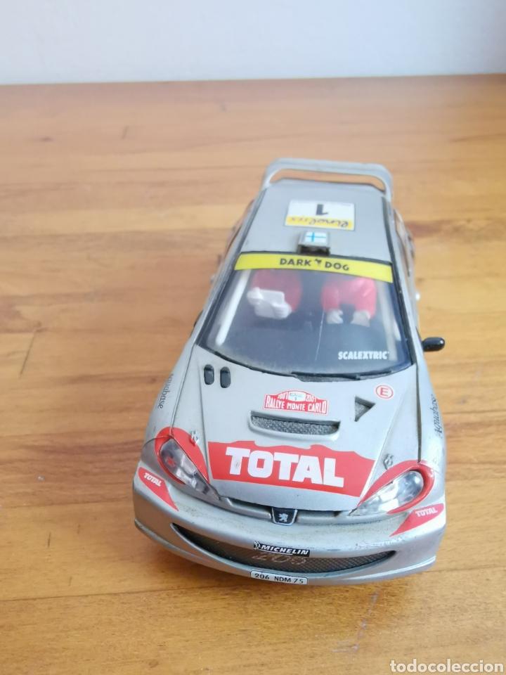 Scalextric: Coche scalextric de Tecnitoys Peugeot 206 WRC nº1 - Foto 7 - 206288213