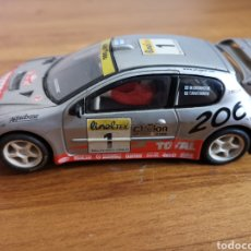 Scalextric: COCHE SCALEXTRIC DE TECNITOYS PEUGEOT 206 WRC Nº1. Lote 206288213