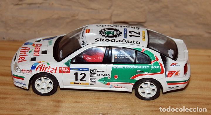Scalextric: SCALEXTRIC TECNITOYS - SKODA OCTAVIA WRC RX-81 - Foto 2 - 206307070